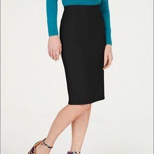 INC International Concepts Scuba Pencil Skirt